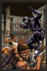 Snake Eyes #12 Variant Cover by spidermanfan2099
