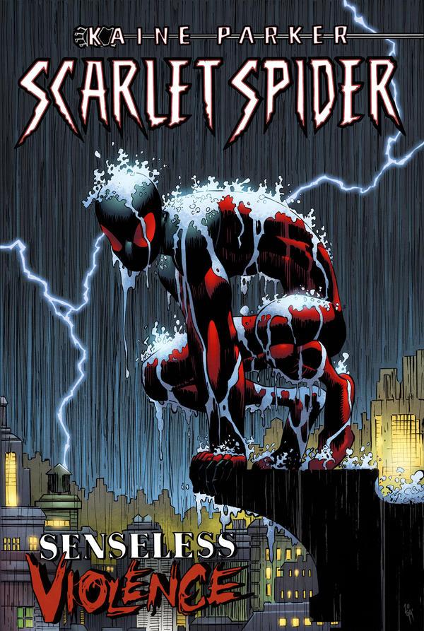 Scarlet Spider Senseless Violence by spidermanfan2099