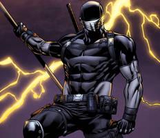 Snake Eyes Storm Shadow #15 sneak peek panel by spidermanfan2099