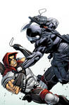 Snake Eyes Storm Shadow 16 Variant Cover