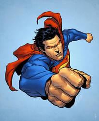 Superman by spidermanfan2099