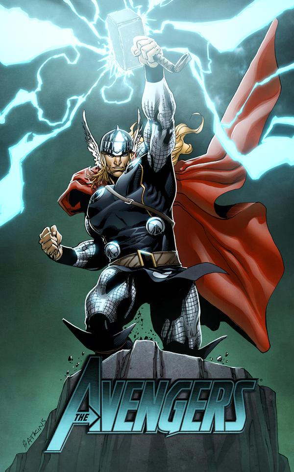 artwork gods lightning marvel - photo #30
