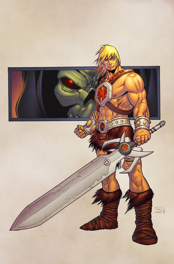 He-Man by spidermanfan2099