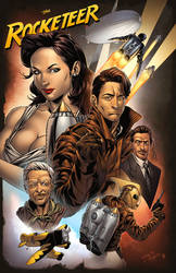 The Rocketeer by spidermanfan2099