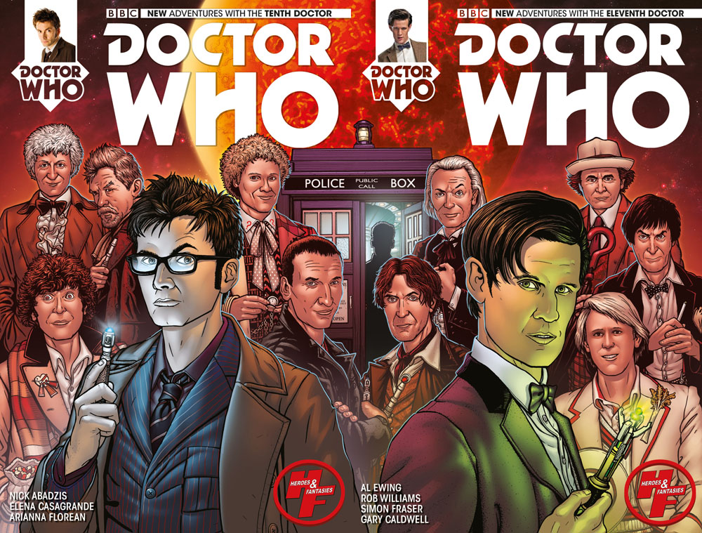 Doctor Who Double cover by spidermanfan2099
