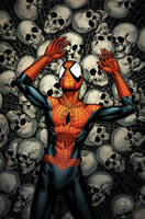 Ultimate Death of Spider-Man cover #158 by spidermanfan2099