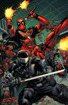 Snake Eyes vs Deadpool