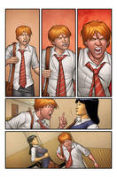 Morning Glories #13 page 7 test by spidermanfan2099