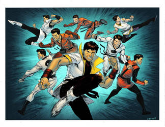 Legion of Karate Kids by spidermanfan2099