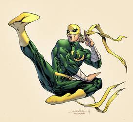 Iron Fist by spidermanfan2099