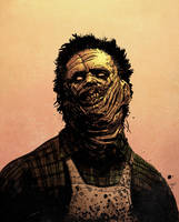 Leatherface, again! by spidermanfan2099