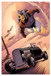Rocketeer Roadster by spidermanfan2099