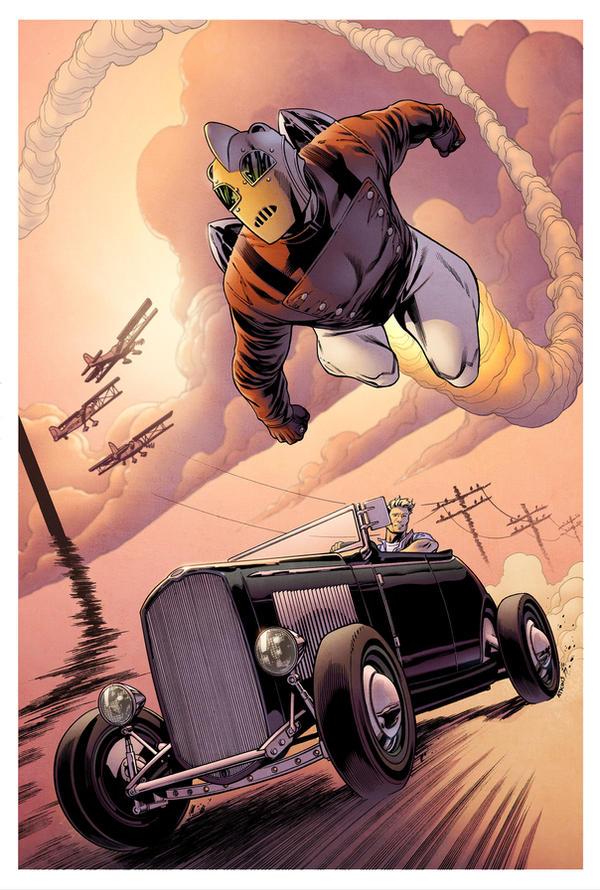 Rocketeer Roadster by spidermanfan2099