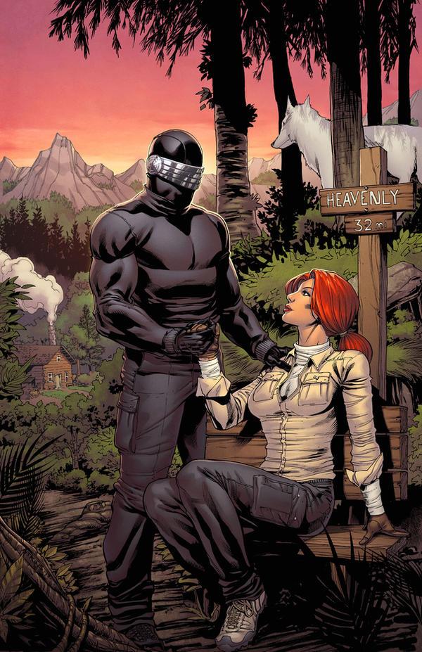 Snake Eyes and  Scarlett Proposal by spidermanfan2099