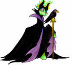 Maleficent by PitterPaint