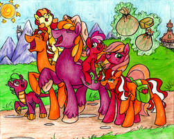 Apples to the Core by PitterPaint