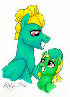Like Father Like Son by PitterPaint
