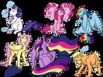 Pregger Ponies