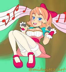 Princess Melody by Midnitez-Art
