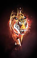 Vector Tigar -Rawr by BuffetKiller