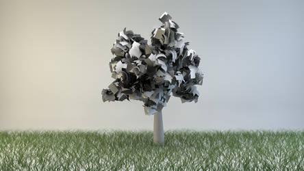 Paper Tree by BuffetKiller