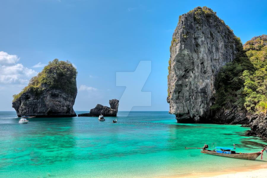 Phi phi island III by MotHaiBaPhoto