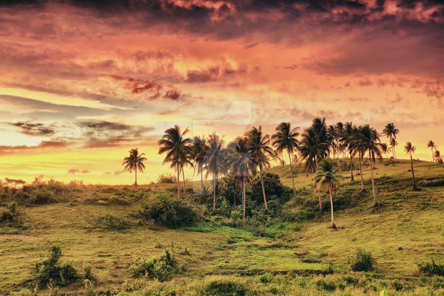 Rural landscape by MotHaiBaPhoto