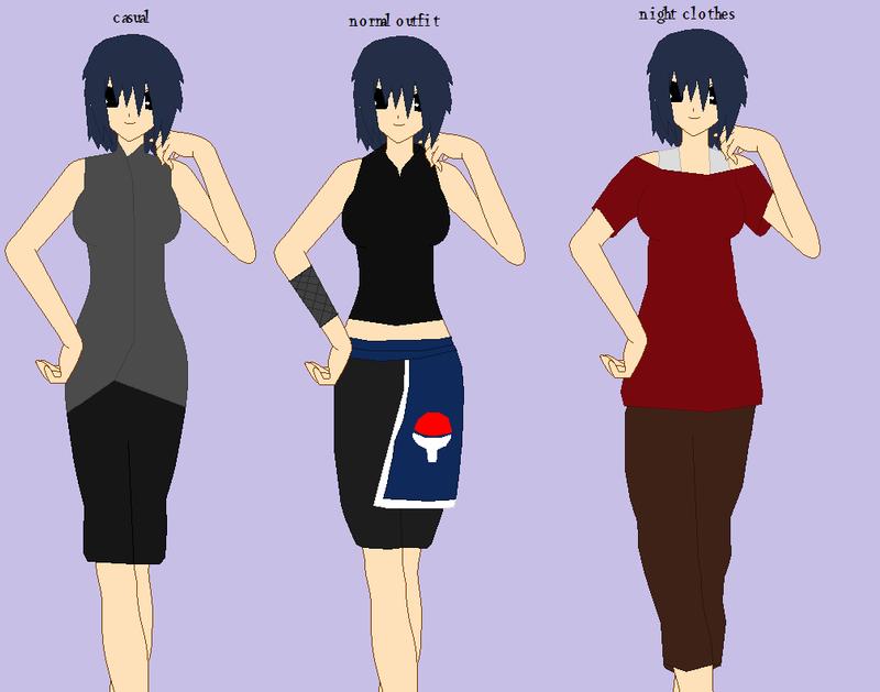 Suzumiya's outfits by pandolphpanda