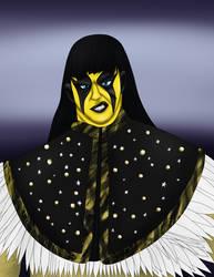 Goldust black wig by teamspike1