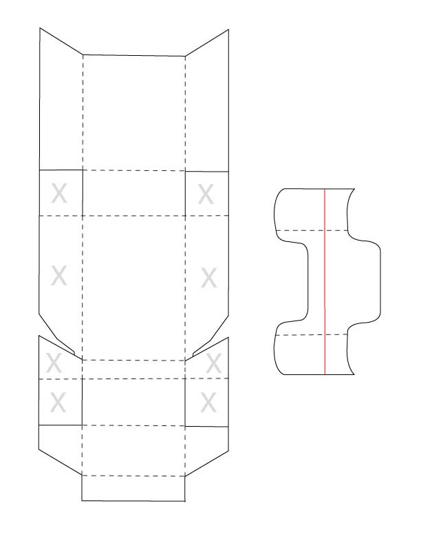 blank box template