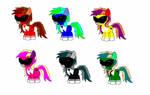mlp power rangers ponies
