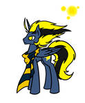 Lightning bolt Creator Guardian Male| MLP WORLD! by lichtningbolt