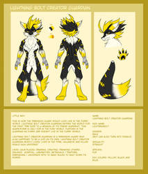 Lightning bolt Creator Guardian| FURRY SHAPE by lichtningbolt
