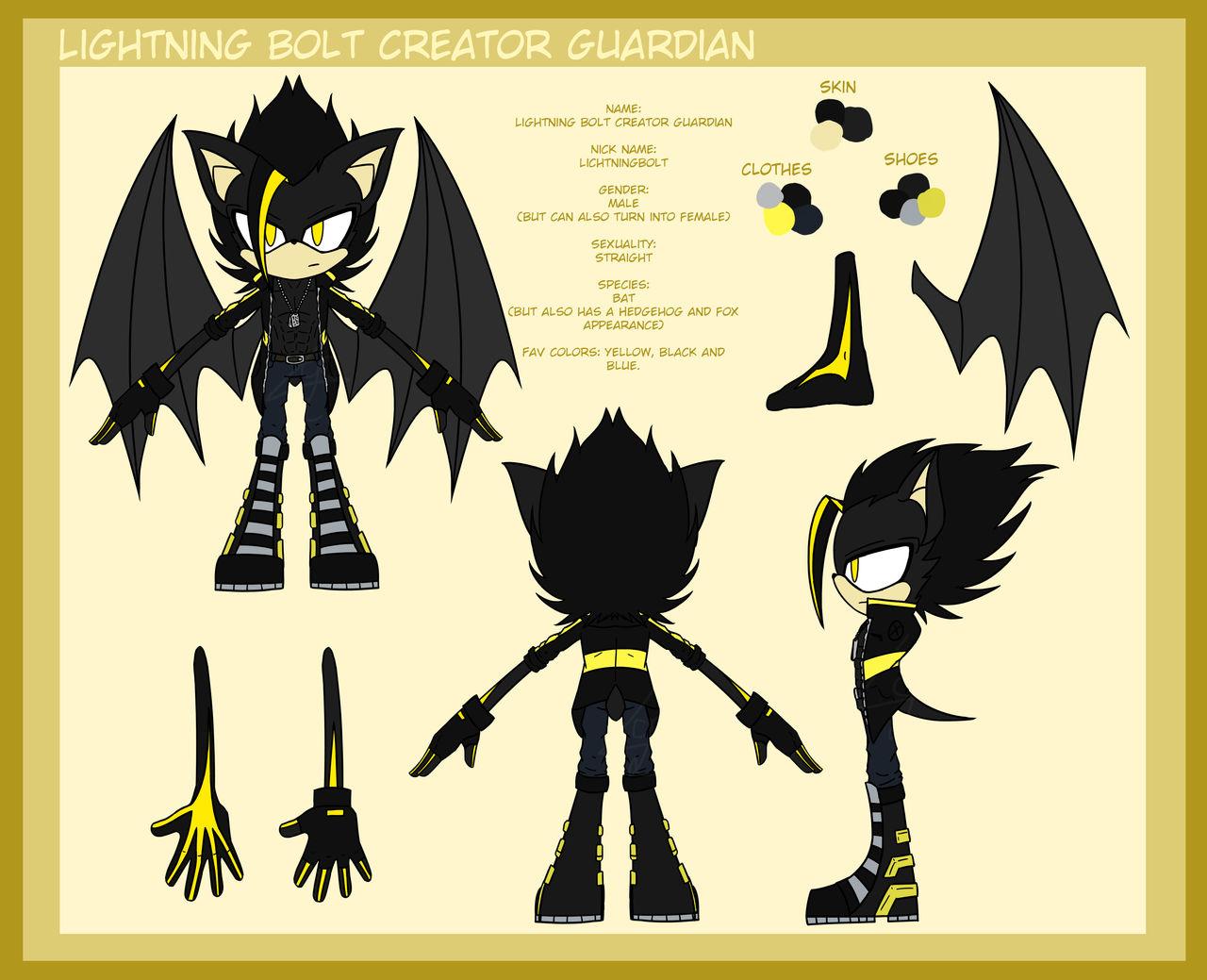 Lightning Bolt Creator Guardian Sonic Shape 2 By Lichtningbolt On Deviantart