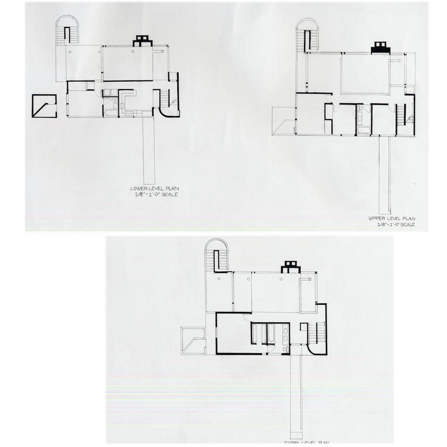 Smith House Plan by Cheishier on DeviantArt – Richard Meier Smith House Floor Plans