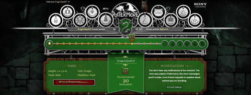 My Pottermore profile by A-J-Crowley