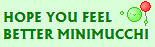 feel better minimucchi by GrasshoneyZ