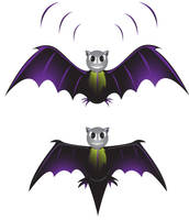 Bat Vector by allendarylcz
