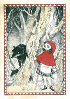 Grimm's Tales no.1 Meeting by panijeziora