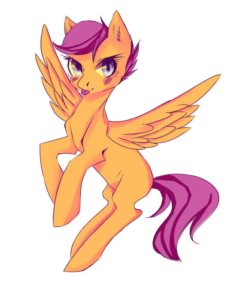 Scoot Scootaloo by HeadphoneHijack