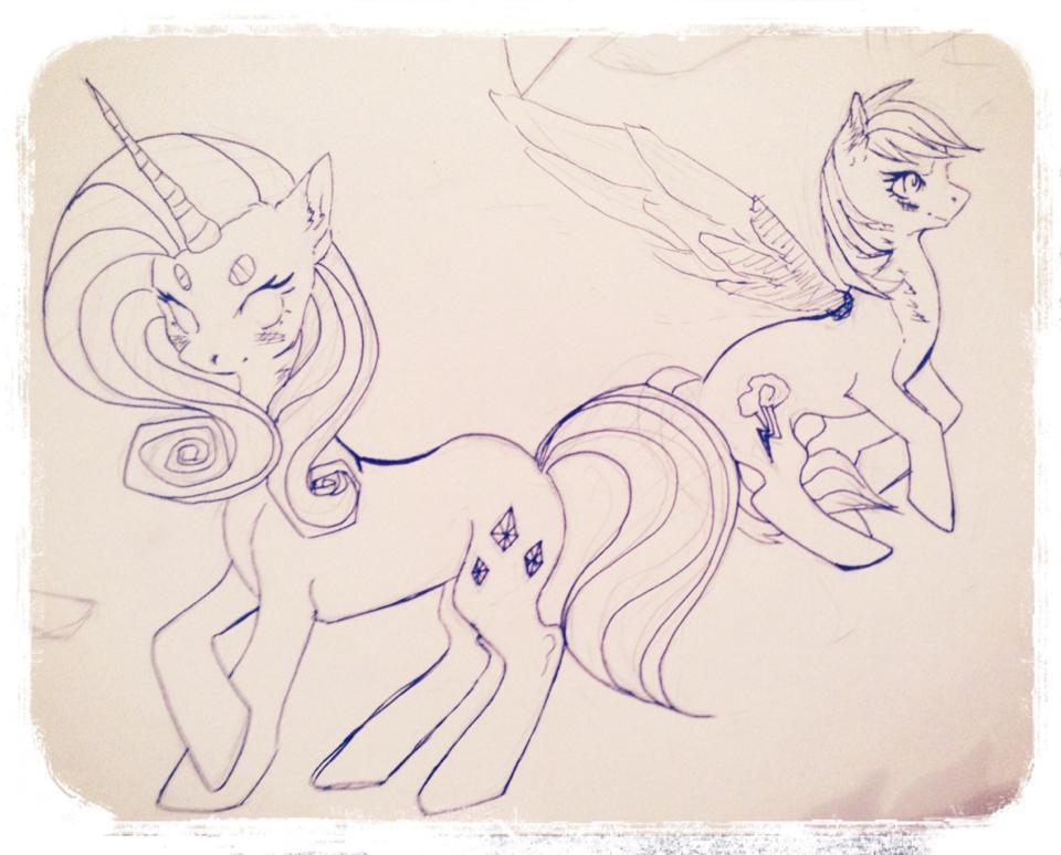 Ponies by HeadphoneHijack