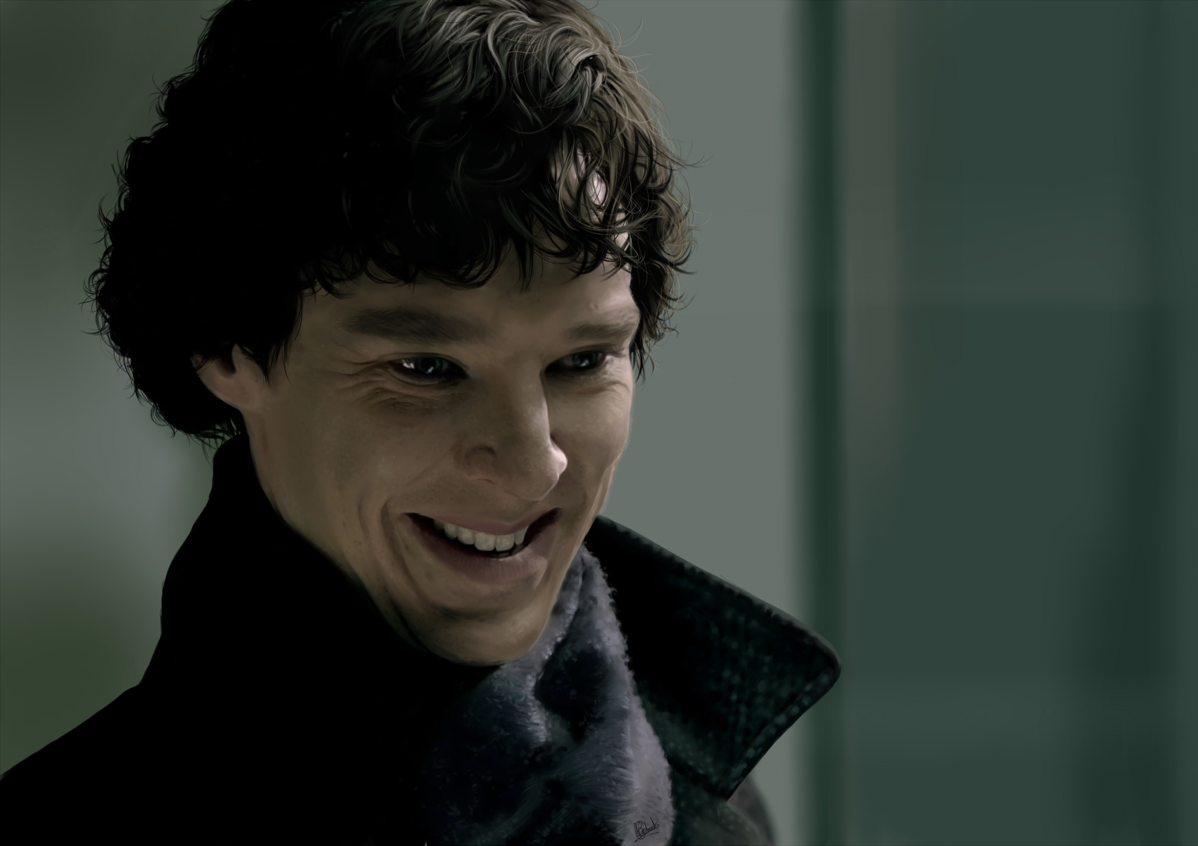 Smile Sherlock by Apollotheneverender on DeviantArt Benedict Cumberbatch Movies