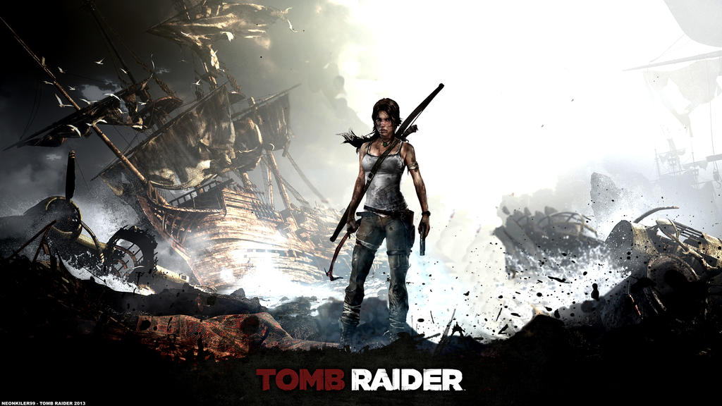 Tomb Raider 2013 Wallpaper: TOMB RAIDER Wallpaper 1080p By Neonkiler99 On DeviantArt