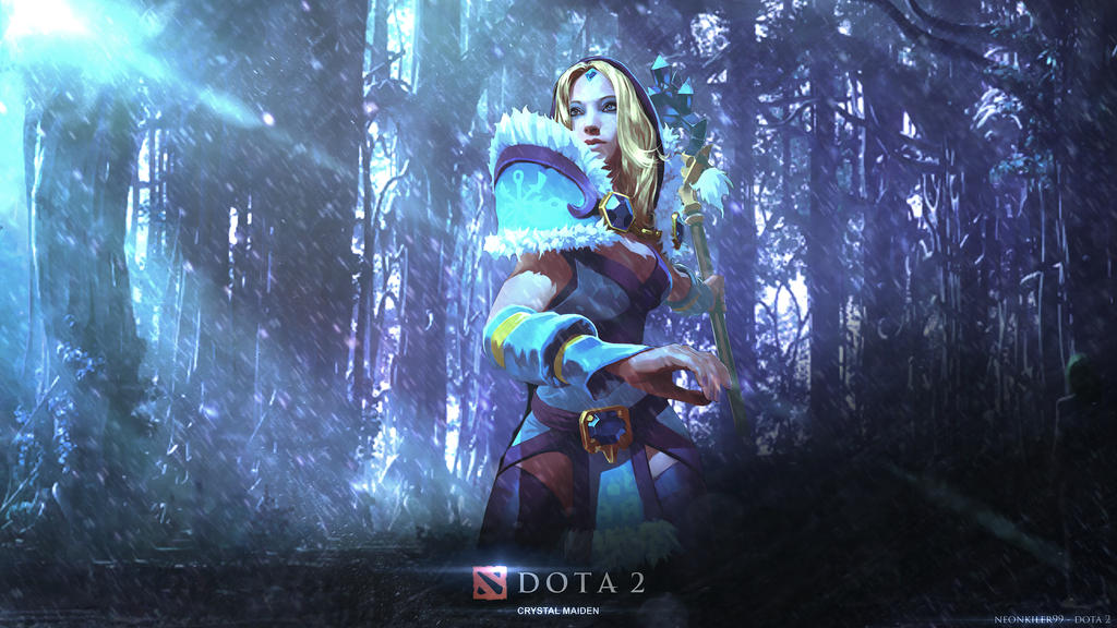 rylai the crystal maiden dota 2 by neonkiler99 on deviantart