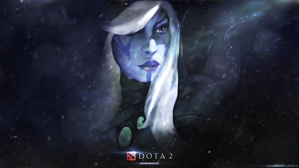 Re Work Traxex The Drow Ranger Dota 2 By Neonkiler99 On Deviantart