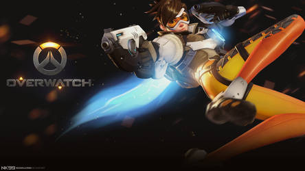 Overwatch - Tracer (1080p) by neonkiler99