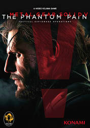 [ORIGIN] MGS V: TPP Game Cover Picture by neonkiler99