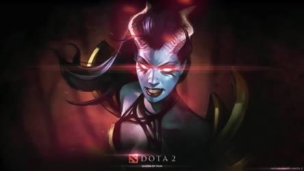 Akasha - The Queen of Pain 2 / DOTA 2 by neonkiler99