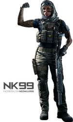 Rainbow Six Siege - Valkyrie Operator Render by neonkiler99
