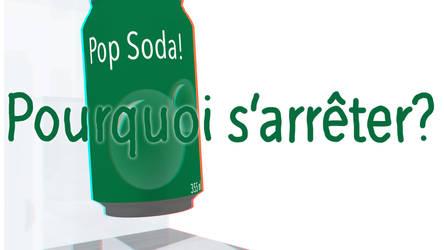 Pop Soda! - Vignette anaglyphe